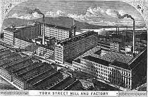 The York Street Mill in Belfast